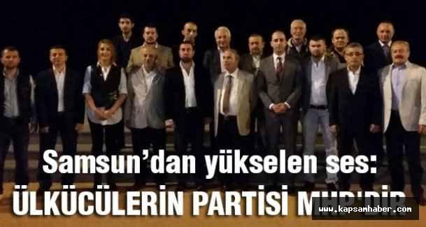 Carus: Ülkücülerin Partisi MHP'dir
