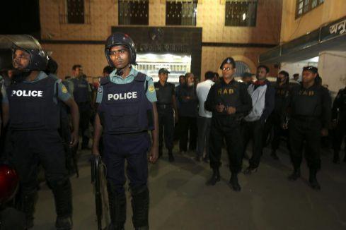 Cemaat-i İslami Partisi yandaşları sokaklara döküldü