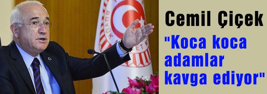 Cemil Çiçek Milletvekillerini Uyardı!