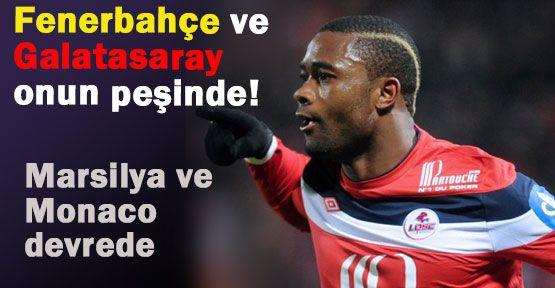 Chedjou için Fenerbahçe ve Galatasaray  Devrede