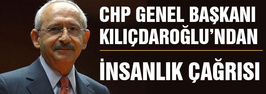CHP Genel Başkanından çağrı