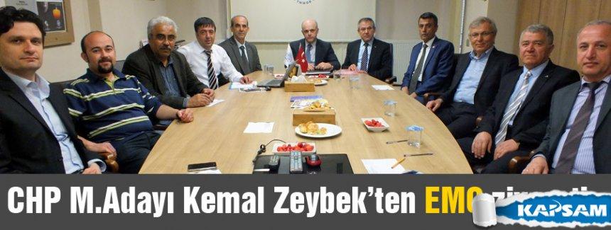 CHP'li Zeybek'ten EMO ziyareti