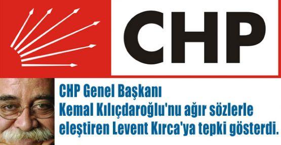 CHP'den Kırca'ya Tepki