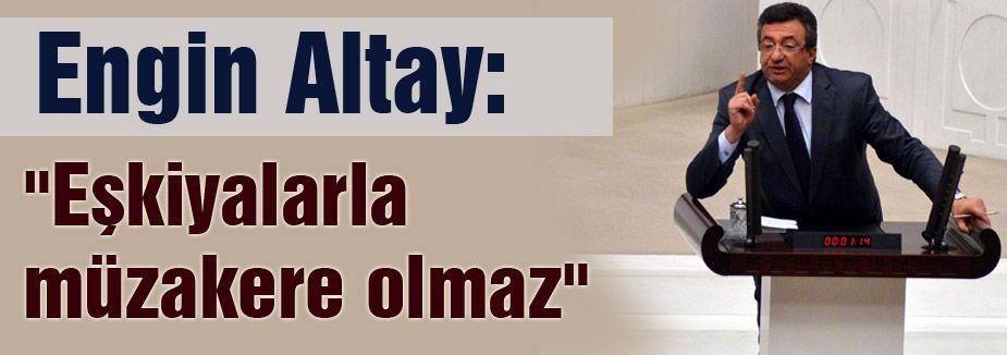 CHP'li Altay;