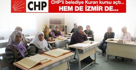 CHP'li Başkan Kuran Kursu Açtı.