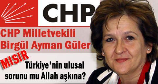 CHP'li Güler Mısır darbesine destek verdi