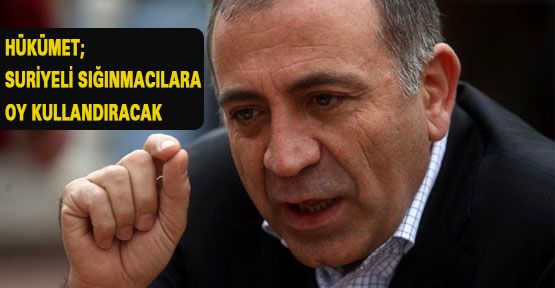 CHP'li Tekin: Suriyelilere oy kullandıracaklar