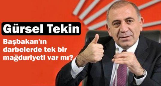 CHP'li Tekin'den Başbakan'a 'cevab