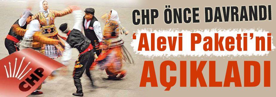 CHP'nin Alevi paketi...