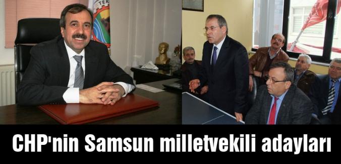 CHP'nin Samsun milletvekili adayları