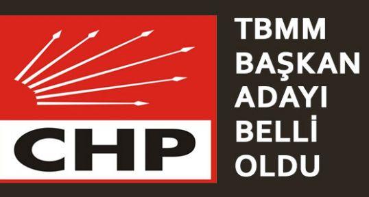 CHP'nin TBMM Başkan Adayı Belli Oldu