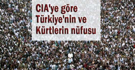 CIA'ya GÖRE Türk-Kürt Sayısı
