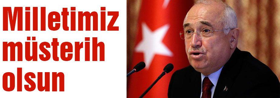 Çiçek: Türk Bayrağına yönelik saldırıyı kınadı