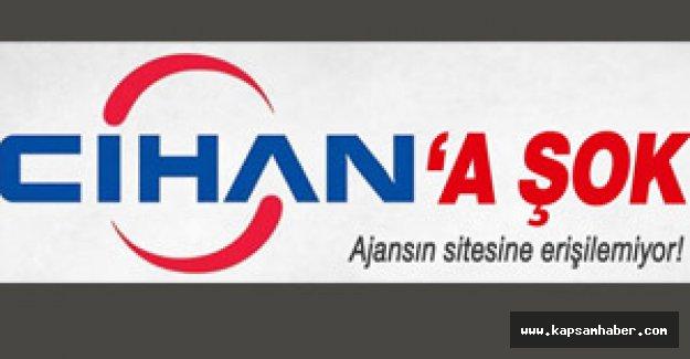 Cihan Haber Ajansı'nın web sitesine erişilemiyor.