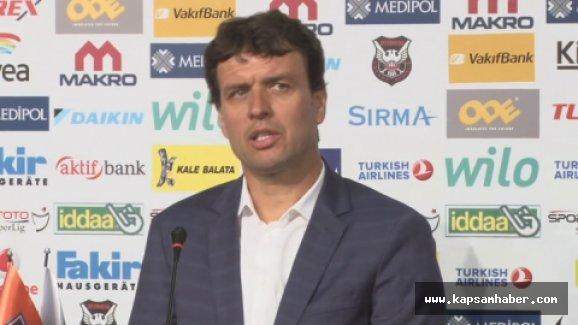 Cihat Arslan: Maçı kazanmayı hak etmedik