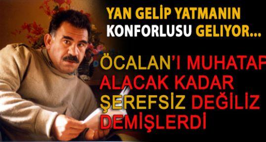 Açıkladılar: Muhatabımız Öcalan'dır