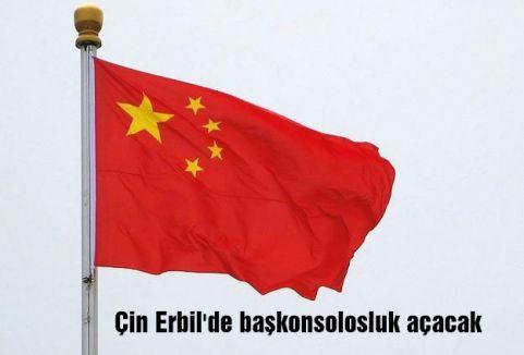 Çin Erbil'de başkonsolosluk açacak