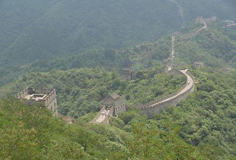 Çin seddinde yeni gelişme...