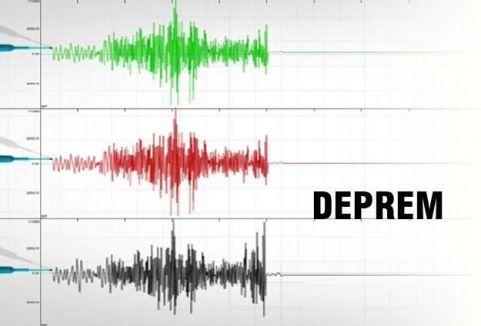 Çin'de deprem...