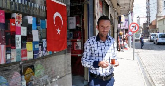Cizre'de Türk Bayrağı Heycanı