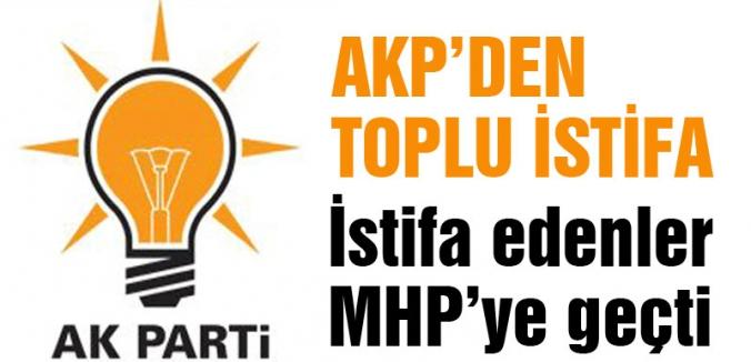 Çorum AKP'den Toplu İstifa