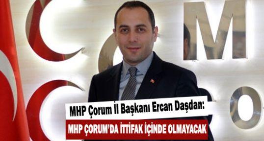 Çorum'da  MHP'ye Yoğun İlgi...