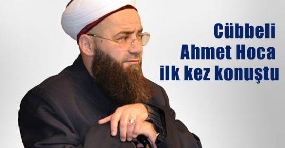 Cübbeli Ahmet Hoca İlk Kez Konuştu