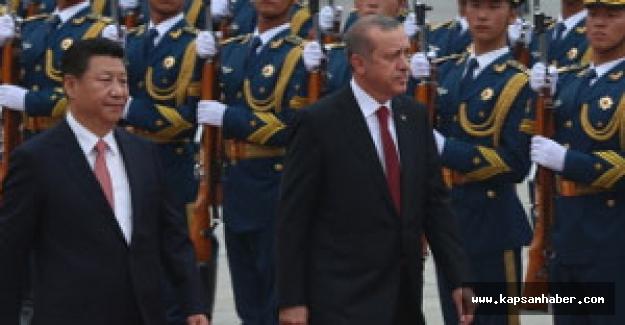 Cumhurbaşkanı Erdoğan, Çin'de resmi törenle karşılandı