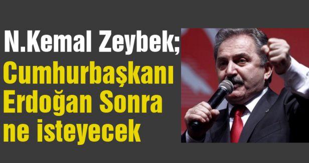 Cumhurbaşkanı Erdoğan Sonra ne isteyecek