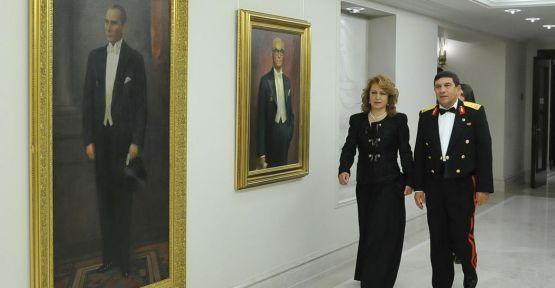 Cumhurbaşkanlarının portleri Köşk'te