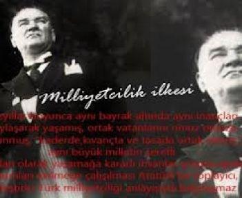 Cumhuriyeti Türk Milliyetçileri Kurmuştur