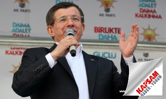 Davutoğlu: Herkeste bir HDP merakı başladı