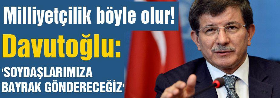 Davutoğlu İzmir'de Muhalefeti Eleştirdi