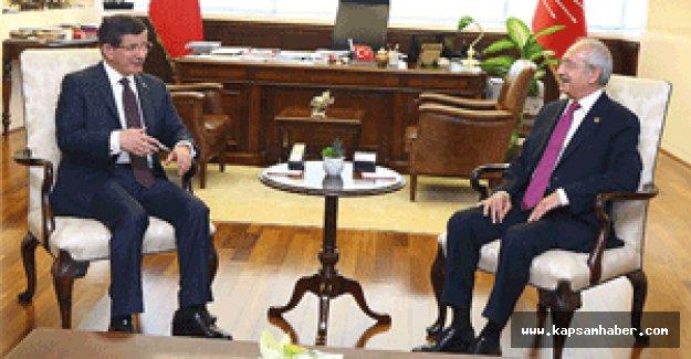 Davutoğlu, Kılıçdaroğlu görüşmesi sona erdi