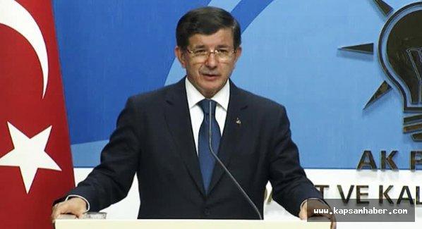 Davutoğlu: MHP ile koalisyon görüşmesini değerlendirdi