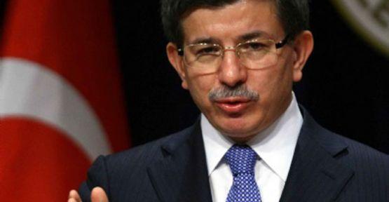 Davutoğlu Suriye'ye Müdahale Sinyalini  Verdi...