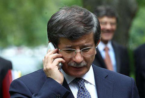 Davutoğlu'dan telefon diplomasisi...