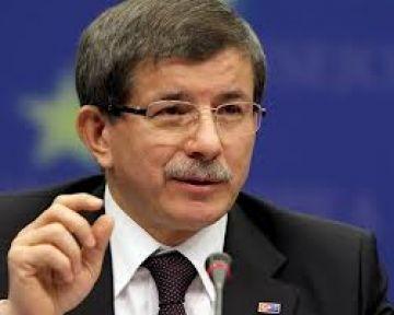 Davutoğlu`ndan Suriye`ye  Cevap