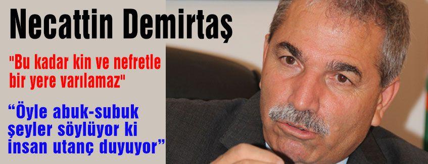 Demirtaş: 'Abuk-Subuk Konuşmasın!'