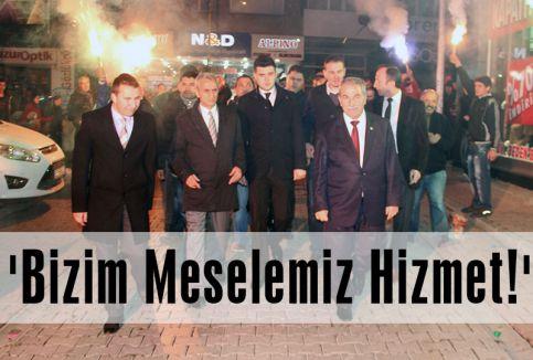 Demirtaş: 'Bizim Meselemiz Hizmet!'