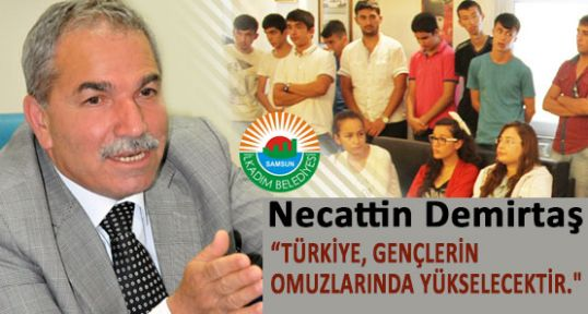 """Demirtaş; """" Türkiye Gençlerin Omuzlarında Yükselecektir."""""""