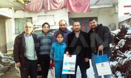 Denizli AGD'den Suriyelilere yardım