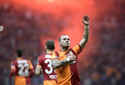 Derbinin galibi Galatasaray...