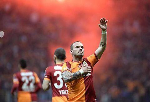 Derbinin galibi Galatasaray...