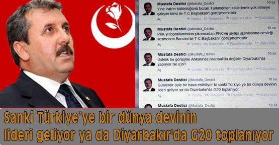 Destici Neden Diyarbakır?