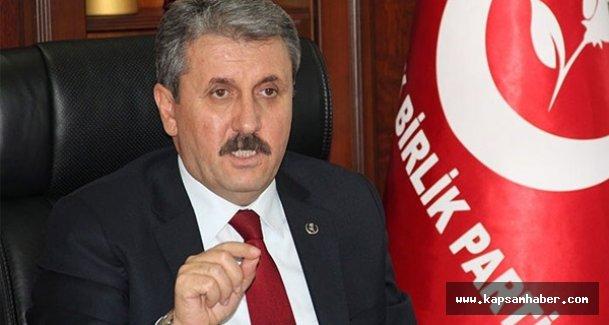 Destici: Umarız bu seçim, Türkiye'nin son anti demokratik seçimi olur