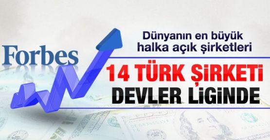 Devler Ligindeki Türk Şirketleri...