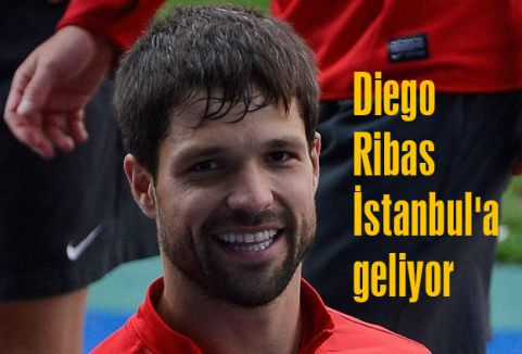 Diego Ribas İstanbul'a geliyor