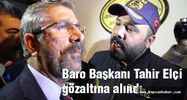 Diyarbakır Baro Başkanı Gözaltına alındı