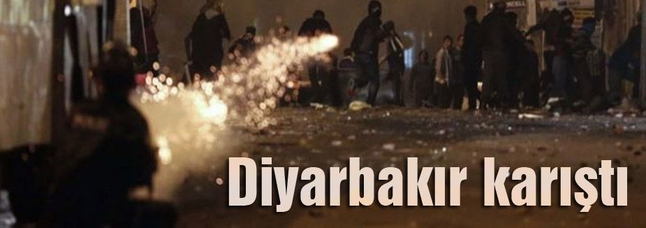 Diyarbakır karıştı polis HÜDA-PAR'ı korumaya aldı